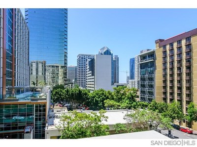 San Diego County Condo/Townhouse For Sale: 425 W Beech St #603