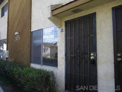 San Diego Condo/Townhouse For Sale: 3626 Lemona Ave #E