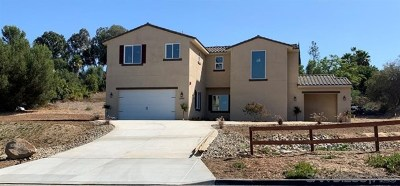 Escondido Single Family Home For Sale