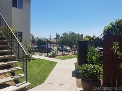 San Diego County Condo/Townhouse For Sale: 4615 Delta St #6
