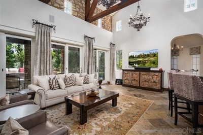 Rancho Santa Fe Single Family Home For Sale: 6969 Corte Spagna