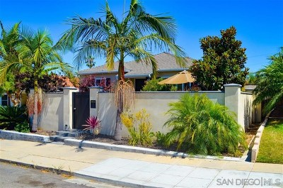 Single Family Home For Sale: 1911 Chatsworth Blvd
