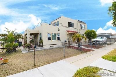 National City Multi Family Home For Sale: 406 E Plaza Blvd.