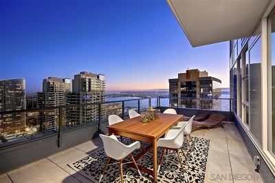 San Diego Condo/Townhouse For Sale: 1388 Kettner Blvd. #3305