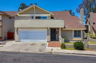Chula Vista Single Family Home For Sale: 1383 Blue Falls Drive