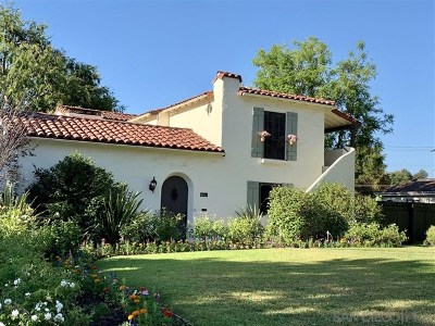 Pasadena Single Family Home For Sale: 2400 Lambert