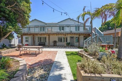 Imperial Beach Multi Family Home For Sale: 553 Silver Strand