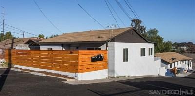 National City Multi Family Home For Sale: 314 E 31st St