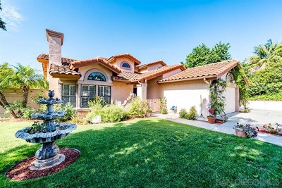 Encinitas Single Family Home For Sale: 1302 Blue Heron Ave