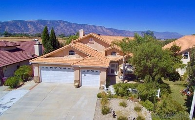 Wildomar Single Family Home For Sale: 34097 Autumn Sage Court