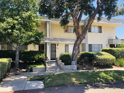 San Diego County Condo/Townhouse For Sale: 7687 Stalmer St #B