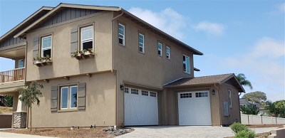Carlsbad Single Family Home For Sale: 3762 Highland Drive