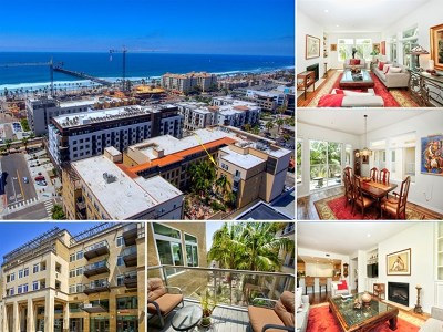 Oceanside Condo/Townhouse For Sale: 301 Mission Ave #501