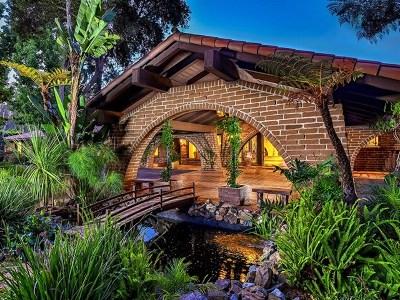 Rancho Santa Fe CA Single Family Home For Sale: $5,499,000