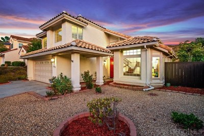 Poway Single Family Home For Sale: 13595 Quiet Hills Dr