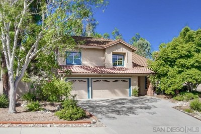 Poway Single Family Home For Sale: 14940 Brookstone Dr.