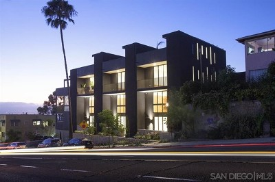 San Diego Condo/Townhouse For Sale: 586 W Laurel