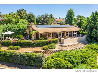 Escondido Single Family Home For Sale: 2648 Peet Lane