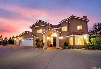 Alpine CA Single Family Home For Sale: $999,000