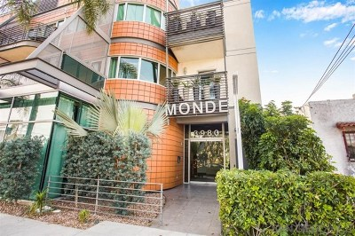 San Diego Condo/Townhouse For Sale: 3980 9th Ave #208