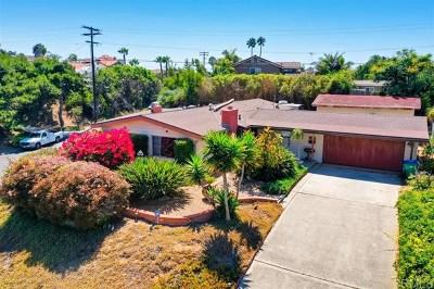 Carlsbad Single Family Home For Sale: 5395 El Arbol Dr