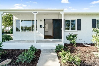 Fullerton Single Family Home For Sale: 1713 W Ash
