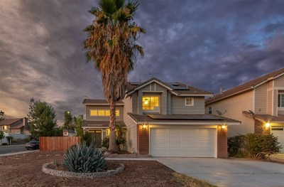 Murrieta Single Family Home For Sale: 23778 Cork Oak Circle