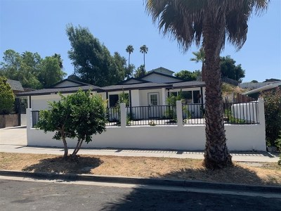Oceanside Single Family Home For Sale: 5005 Macario Dr
