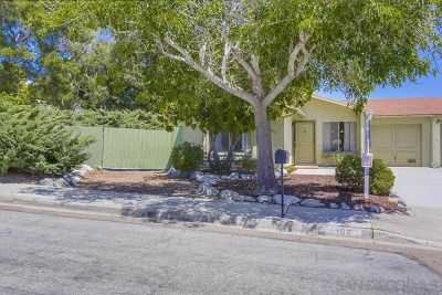 Oceanside Single Family Home For Sale: 1402 Temple Heights