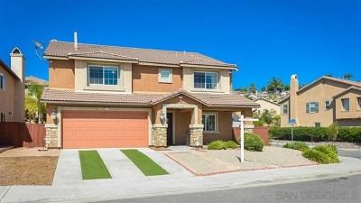 San Marcos Single Family Home For Sale: 813 Via La Venta