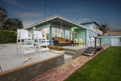 Encinitas Single Family Home For Sale: 900 Cornish Dr #A
