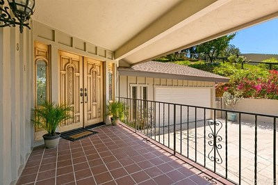La Mesa Single Family Home For Sale: 9833 Edgar Place