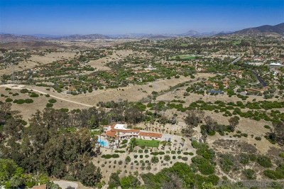 Fairbanks Ranch Single Family Home For Sale: 17398 Calle Serena