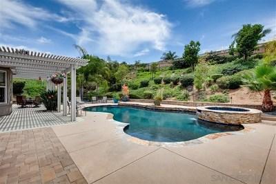 Escondido Single Family Home For Sale: 2625 Emerald Oaks Gln