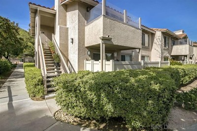 El Cajon Condo/Townhouse For Sale: 11580 Fury Ln #165