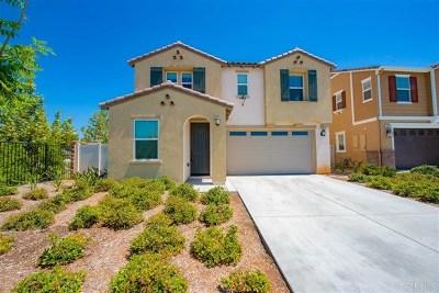 El Cajon Single Family Home For Sale: 1111 White Oak Ct