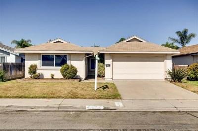 San Diego Single Family Home For Sale: 11186 Berryknoll St
