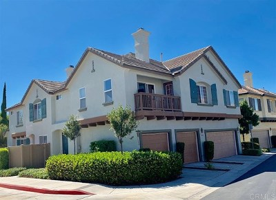 Chula Vista Condo/Townhouse For Sale: 1394 Normandy Dr