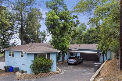 La Mesa Single Family Home For Sale: 9790 Shadow Rd