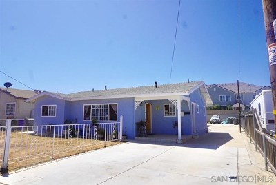 Imperial Beach Multi Family Home Active Under Contract: 536 7th St
