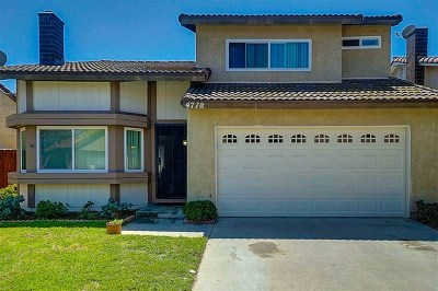 Oceanside Single Family Home For Sale: 4778 Adler Way