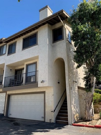 Spring Valley Condo/Townhouse For Sale: 8535 Paradise Valley Road #3