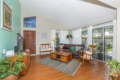 Encinitas Condo/Townhouse For Sale: 2028 Shadytree Ln
