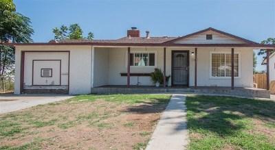El Cajon Single Family Home For Sale: 741 El Monte Rd
