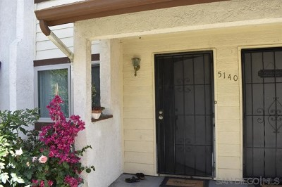 Oceanside Condo/Townhouse For Sale: 5140 N River Rd #D