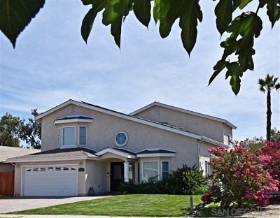 San Diego Single Family Home For Sale: 10821 Whitehall Road