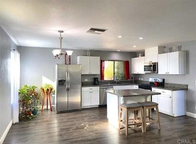 El Cajon Single Family Home For Sale: 647 Ellen Ln.