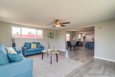 Imperial Beach Single Family Home For Sale: 733 Hickory Ct