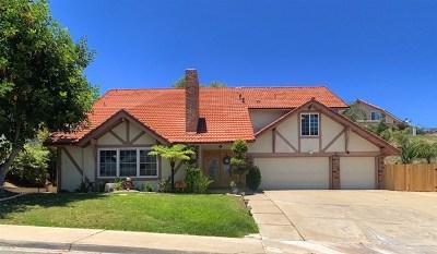 El Cajon Single Family Home For Sale: 344 Dewane Dr
