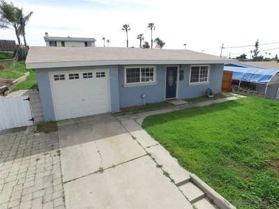 Chula Vista Single Family Home For Sale: 228 E Orlando St E